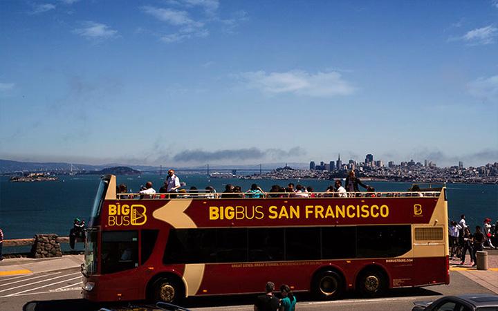 Bus San Francisco Californie