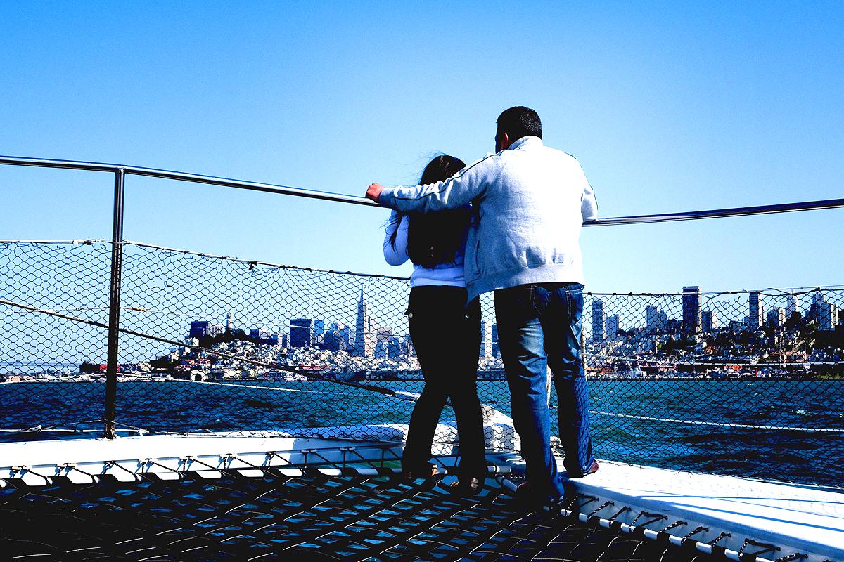 Catamaran San Francisco Californie