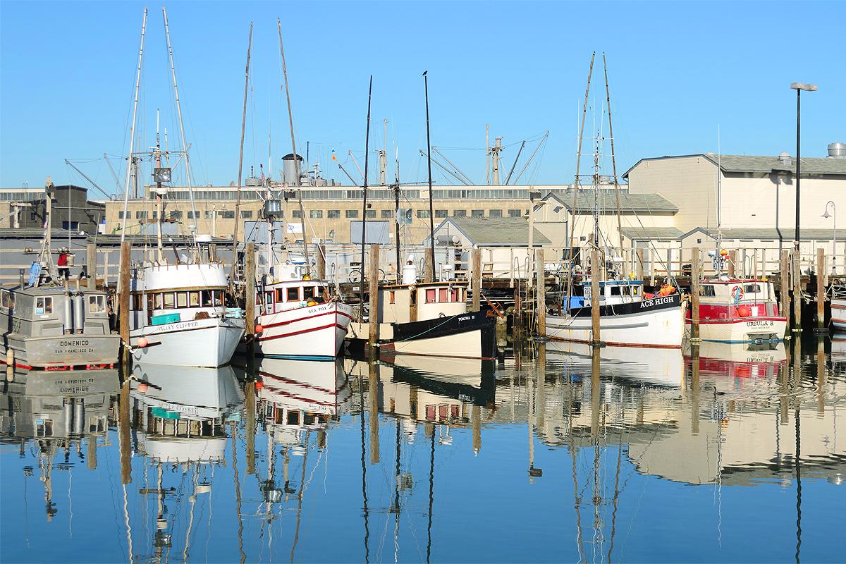 Fisherman Wharf San Francisco California