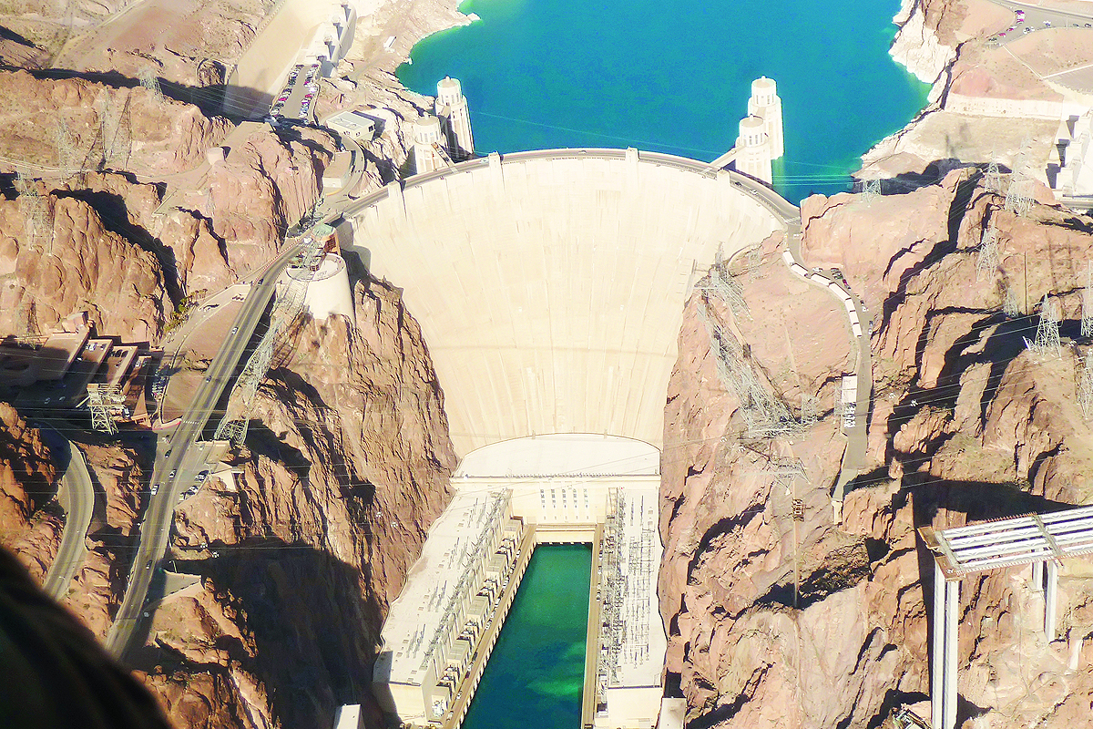 Hoover Dam Helicoptere