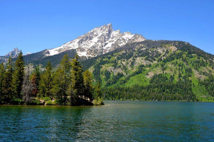 Grand Teton National Park Lake