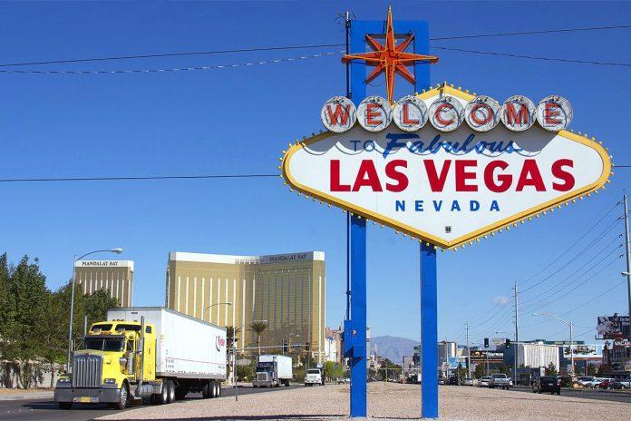 Las Vegas Panneau USA
