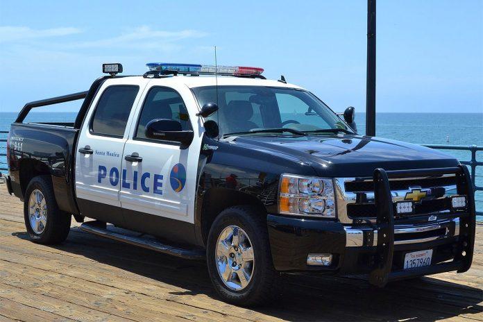 Police Los Angeles Santa Monica
