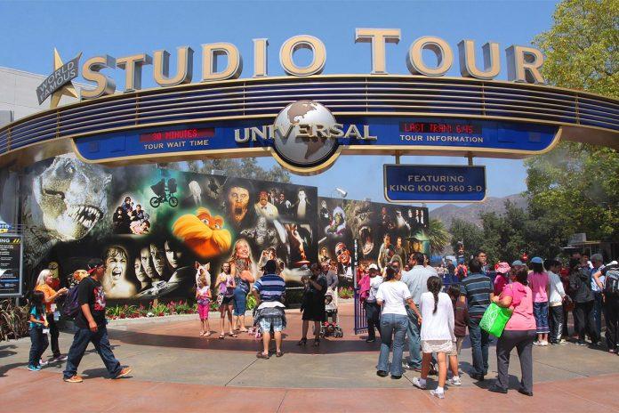 Studio Tour Universal Studios