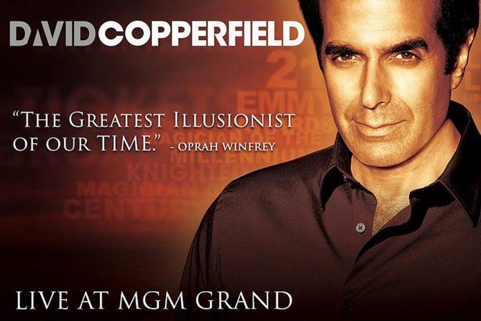 David Copperfield MGM Las Vegas